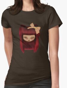 Little Happy Doll Womens Fitted T-Shirt