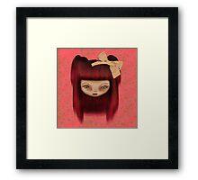 Little Happy Doll Framed Print