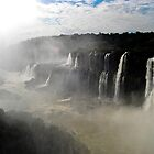 Iguazu Falls Seen from Brazil by pdgoodman