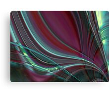 abstract glass world Canvas Print