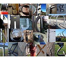 Secret Alphabet Photographic Print