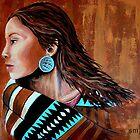 Mariah, Wrapped In Tradition #12 by Susan Bergstrom