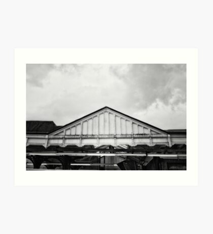 Harrow & Wealdstone Tube Station Art Print