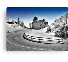 The Castle of Lichtenstein  Canvas Print