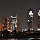 Dubai at Night I by Joseph Najm