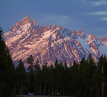 Teton Sunrise by Bob Moore