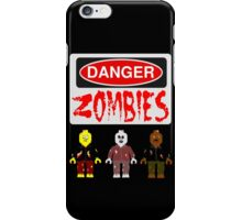 DANGER ZOMBIES iPhone Case/Skin