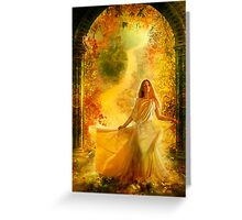 Into Dreams Greeting Card