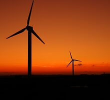 Cornwall: Wind Power at Delabole by Rob Parsons