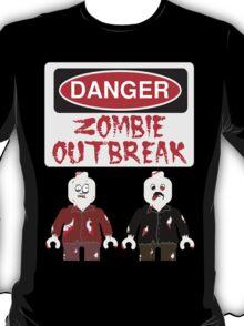 DANGER ZOMBIE OUTBREAK T-Shirt