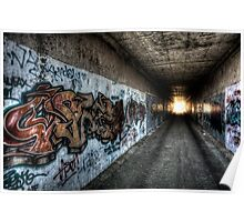 Graffiti in HDR Poster