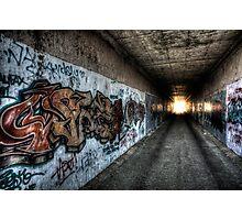 Graffiti in HDR Photographic Print