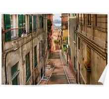 Genova Alley Poster