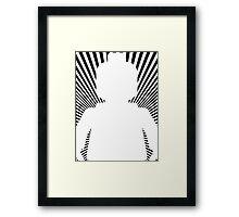VORTEX MINIFIG Framed Print
