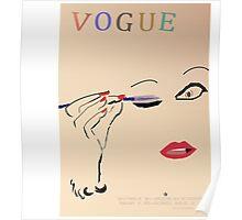 VOGUE RECREATION 1935 Poster