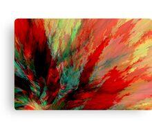 Explosion 9 Canvas Print