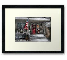 A Tribute to Rockwell  Framed Print