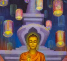 Light of Buddha Sticker