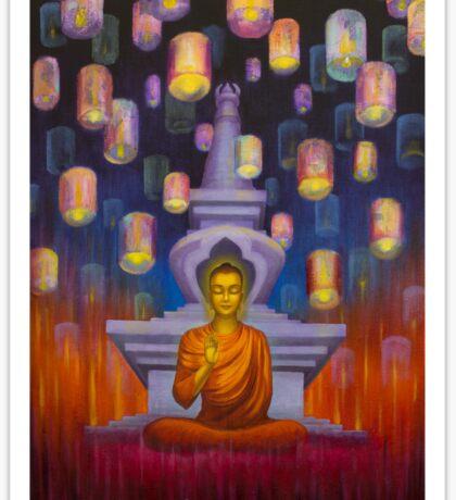 Light of Buddha Sticker