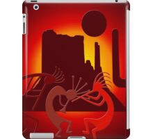Southwest Kokopelli in Red iPad Case/Skin