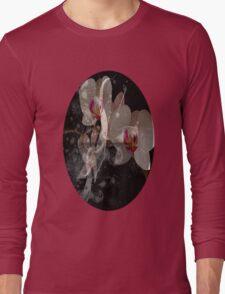 Orchid + Tendrils  Long Sleeve T-Shirt