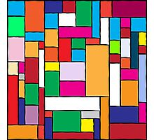 Colorful Tiles Photographic Print