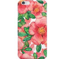 - Wild roses - iPhone Case/Skin