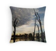 River Murray at dawn - Berri South Australia Throw Pillow