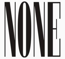 NONE.cmd by shadeprint