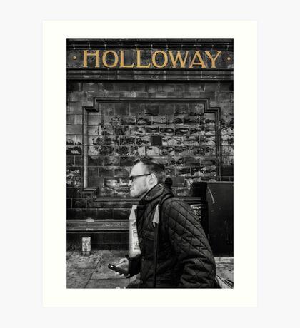 Holloway Road Tube Station Art Print