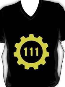 Vault 111 Vector T-Shirt