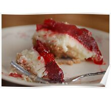 Strawberry Cheesecake Poster