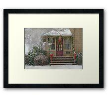 Winter - Dreaming of a White Christmas Framed Print