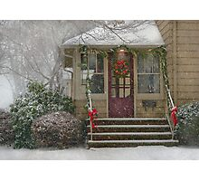 Winter - Dreaming of a White Christmas Photographic Print