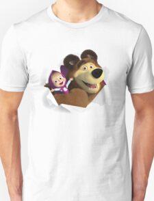 Masha and the Bear T-Shirt
