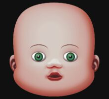 Baby Doll Head Small Eyes by Mike Cressy