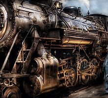 Train - Now boarding by Mike  Savad