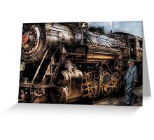 Train - Now boarding Greeting Card