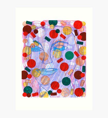 Multi-Colored Possibilities Art Print