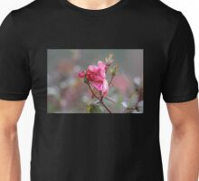 Faded Pink Rose Unisex T-Shirt