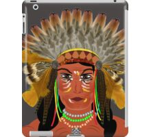 Native American Indian Chief  iPad Case/Skin