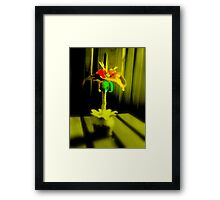 Streatam rose 3 Framed Print