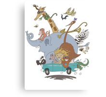 All Aboard!  Canvas Print