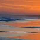 Sunset Canvas - Redhead Beach NSW Australia by Bev Woodman
