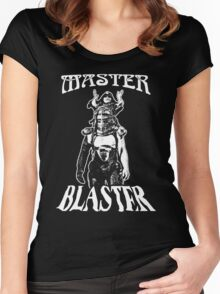 Master Blaster T-Shirt Women's Fitted Scoop T-Shirt