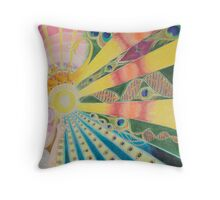 The Space Between Throw Pillow