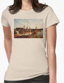West Bank Tall Ships - Bay City - 2010 Womens Fitted T-Shirt