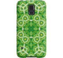 Abstract Pattern  yellow Green Samsung Galaxy Case/Skin