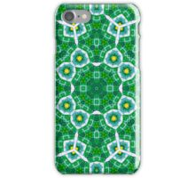 Abstract Pattern Green blue iPhone Case/Skin