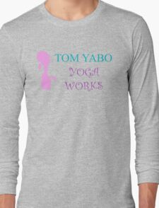 Tom Yabo Yoga Works - American Dad Long Sleeve T-Shirt